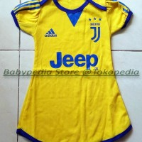 Jual Dress Bola Bayi Baju Bayi Perempuan Juventus - Away Murah