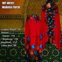 Jual Mukena Bali Motif Floral Series 2 Mukena Rayon Termurah Mukena Promo Murah