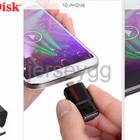 FD Flashdisk Sandisk 64GB Dual Drive OTG USB 3 0