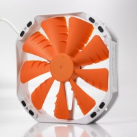 Phanteks PH-F140TS/PHF140TS Orange/Oranye Fan Case 140mm/14cm