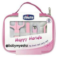 Chicco Grooming Baby 1St First Nail Care Set Manicure Kit With Case