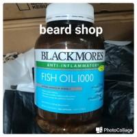 Jual BLACKMORES Fish Oil Minyak Ikan BLACK MORES isi 400 Softgel Murah