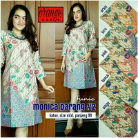 Tunik / Dress Batik Monica Parang 2