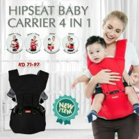 Jual kiddy hipseat baby carrier 4 in 1 / kiddy new hipseat / hiprest kiddy Murah