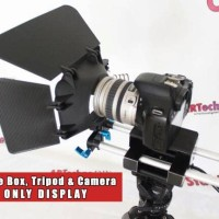 Rail Rod Dudukan Matte Box Follow Focus Teleprompter ARTechno DIY