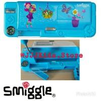 Smiggle City Pop Up Fan Pencil Case Blue