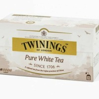 TWININGS PURE WHITE TEA Teh Putih Natural