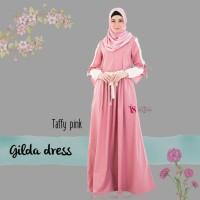 Gamis Only Gilda Dress Taffy Pink By VALISHA original Gamis Toyobo HQ
