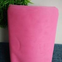 kain tile kaku pink terang 100x125cm