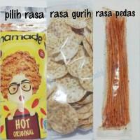 Jual Paket Camilan Murah ( MAMADE, KRIPIK TEMPE , MIE LIDI ) Pochi Homemade Murah
