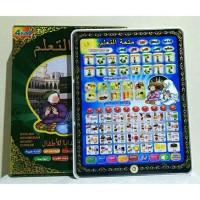 MAINAN EDUKATIF PLAYPAD ANAK MUSLIM 4 BAHASA LAMPU KED
