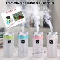 Jual Paket Aromaterapi Diffuser Humidifier 300ml + Oil 12 Botol Murah