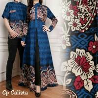 model baju couple terkini dan murah CP CALISTA BIRU