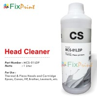 Head Cleaner Printer Epson Canon Brother HP Premium 1 Liter MCS-01LDP