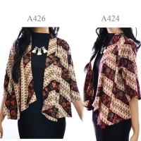 Jual Cardigan Batik Jas Bolero vest wanita batik outer A424A426 Murah