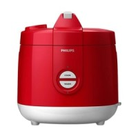 PHILIPS HD-3127-32 Rice Cooker - Red