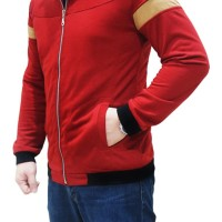 Original Quincy Label Mazzo Jacket-Red