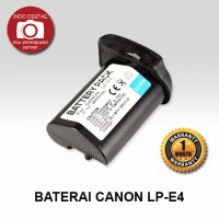 BATERAI CANON LP-E4 ( FOR CANON 1D Mark III DSLR / EOS 1D Mark IV)