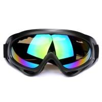 Kacamata Goggles Ski Helm Cross Trail Downhill Airsoftgun Anti Silau