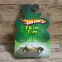 DIECAST HOT WHEELS DODGE VIPER RT 10 GOLD CLOVER CARS L5730-0910