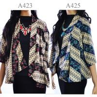 Jual Cardigan Batik Jas Bolero vest wanita batik A423A425 Murah