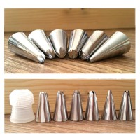 Piping Tip Set Spuit Stainless-Alat Baking Penghias Kue-Cake Decor