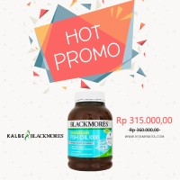 BLACKMORES ODOURLESS FISH OIL 1000 BPOM KALBE 400 TAB