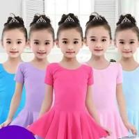 Baju anak impor perempuan leotard balet ballet senam anak modern dance