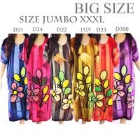 Jual Daster Batik Baju Tidur Jumbo Rayon D23 Murah