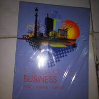 Buku / Foundations Of Business 5th By. Pride Hughes Kapoor