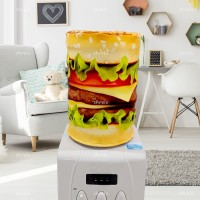 Sarung Galon (Cover Gallon) unik motif Hamburger