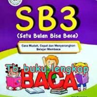 Buku SB3 (Satu Bulan Bisa Baca) Muhammad Toha