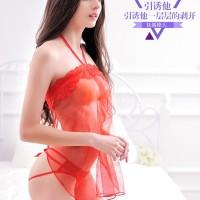SK Lingerie Babydoll Red 2991| HQ Import | Lingerie + G- string
