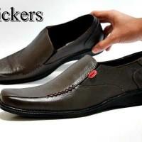 Kickers Pantofel Kerja Formal Coklat Pria Sepatu Dina PREMIUM B21 8822