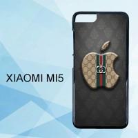 Casing Xiaomi Mi5 Gucci Apple Logo X5099