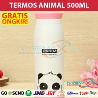 Termos Air Karakter Animal 500ml Murah Gambar Panda