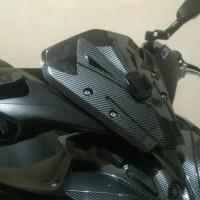 Visor Yamaha Aerox versi NVX 155 Best Quality Carbon Barang Import