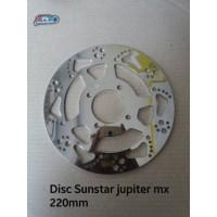 disc/piringan sunstar vega,nouvo,jupiter,zupiter 220mm