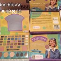 BIG SHADE - Eyeshadow 44 Colors The Balm Palette Besar Kode Shade Rose
