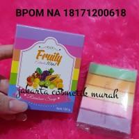 Sabun Fruity 10in1 / SABUN RAINBOW Fruitamin BPOM / Rainbow soap