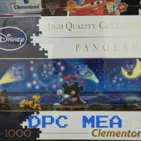 harga Puzzle Jigsaw Disney Mickey And Minnie Panorama 1000 Pcs - Sni Tokopedia.com