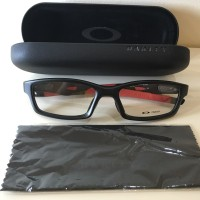 Kacamata Frame Oakley Crosslink Original (Asian Fit)- Black Red OX8029