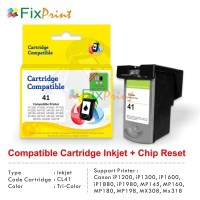 Cartridge Recycle Canon CL41 Color (Indikator FULL) Printer iP1980