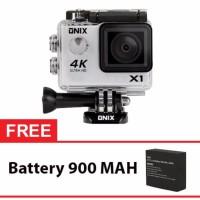 Jual Onix XCOM X3 Action Camera 4K Ultra HD 16MP WIFI Carton Box Gratis Bat Murah
