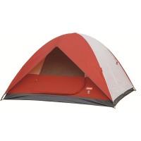 Coleman Sundome 6 Person tent (Red/White)