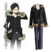Costume Orihara Izaya Jacket Hoodie Anime Cosplay Import Unisex