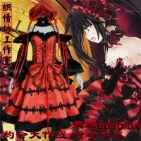 Costume Kurumi Tokisaki Date a Live Default Anime ver. Cosplay Dress