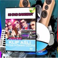 Paket LAGU DANGDUT INDO 30 Dvd Ribuan LAGU - BONUS SOFTWARE DZONE 8