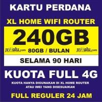 Kartu Perdana XL GO Home Router Kuota 240GB | 240 GB 3 Bulan