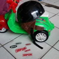Helm Chip Cip Warkop DKI Bogo Jadul Ori Daleman Tali List Baru 352